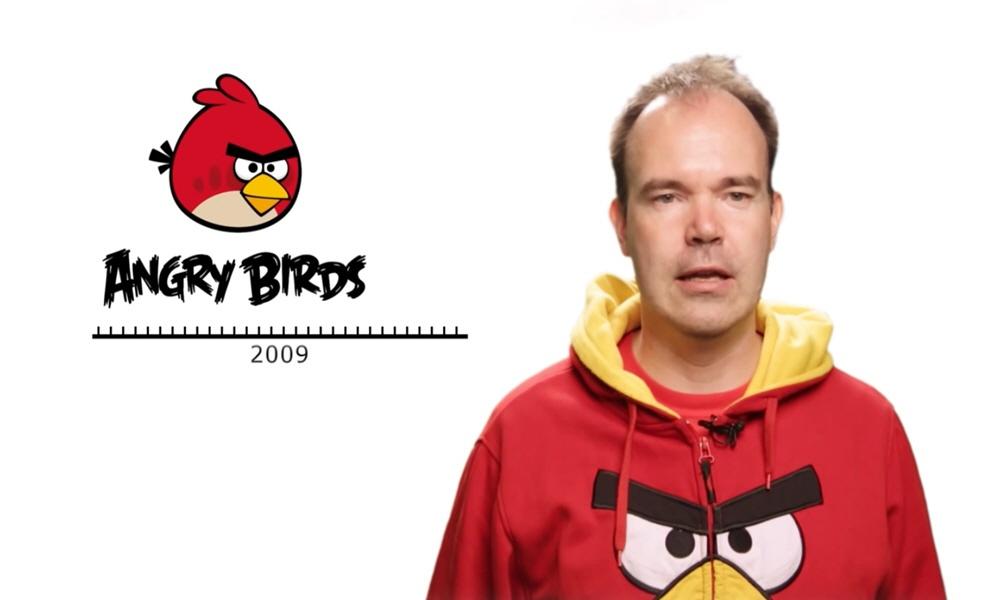 Питер Вестербака - создатель Angry Birds