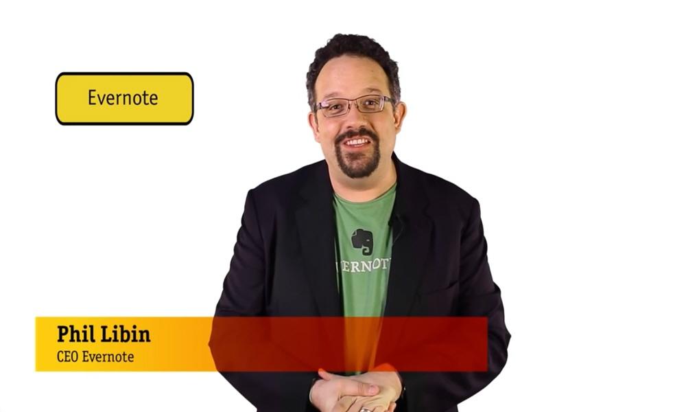 Фил Либин сооснователь и генеральный директор компании Evernote