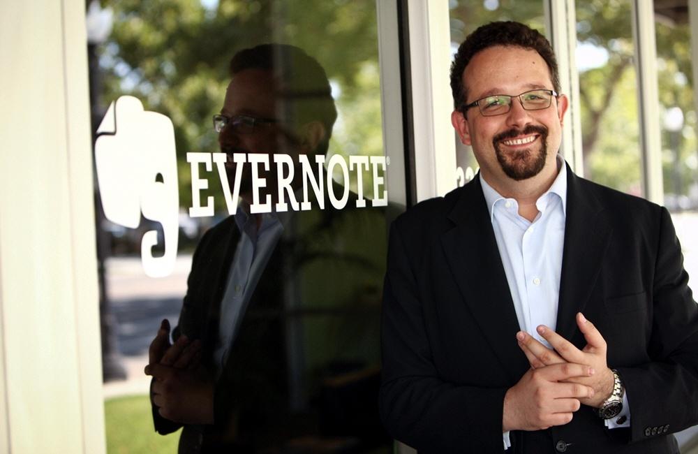Софтверный Бизнес компании Evernote