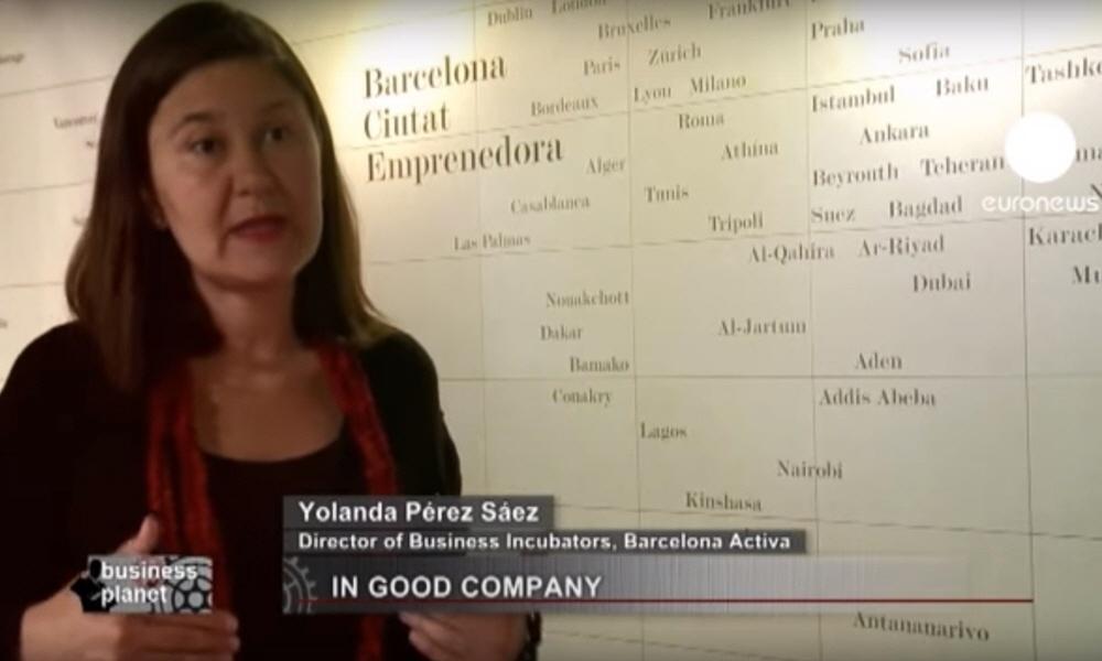 Ёланда Перес Yolanda Perez - директор бизнес-инкубатора Barcelona Activa