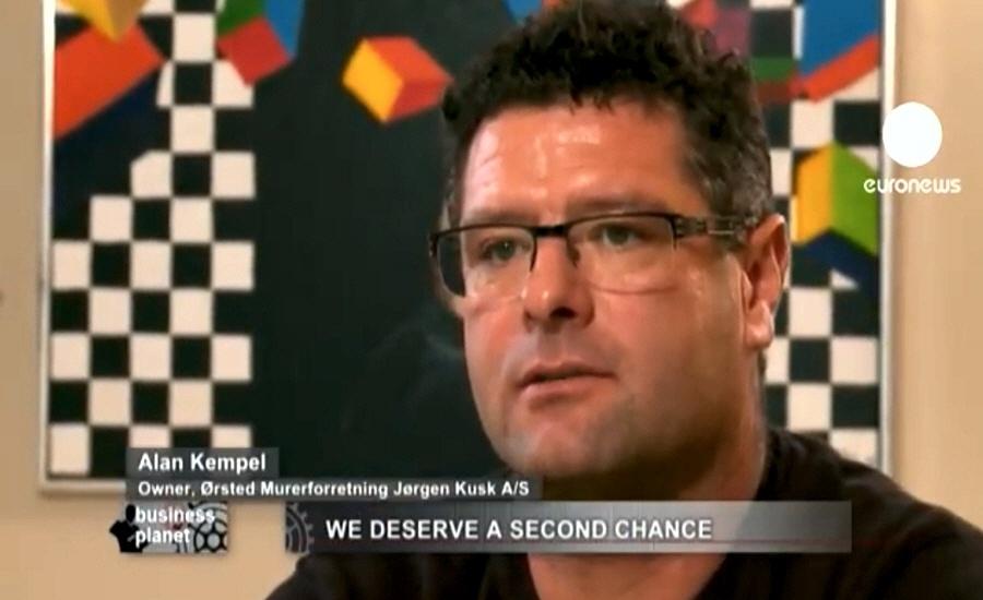 Алан Кемпель - глава строительной компании Orsted Murerforretning в Дании