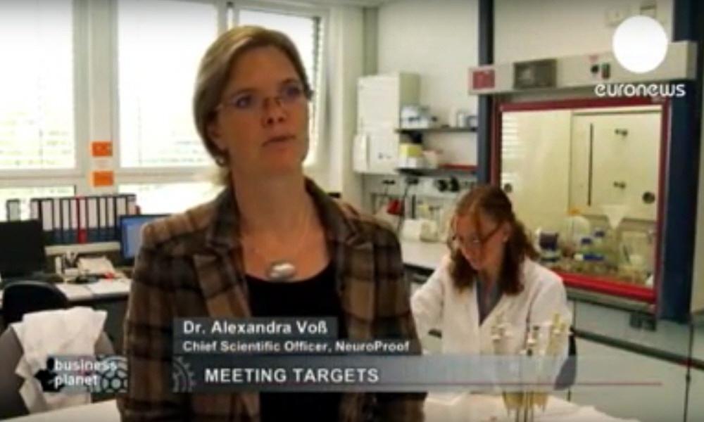 Александра Фосс Alexandra Voss - руководитель отдела научных разработок компании Neuroproof