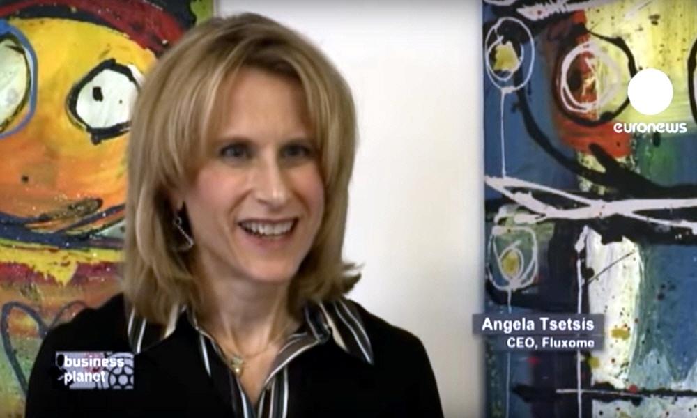 Ангела Тсетсис Angela Tsetsis - главный исполнительный директор компании Fluxome