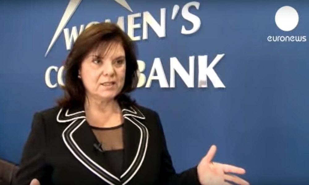 Артемис Турмази Artemis Tourmazi - исполнительный директор Банка Womens Cooperative Bank