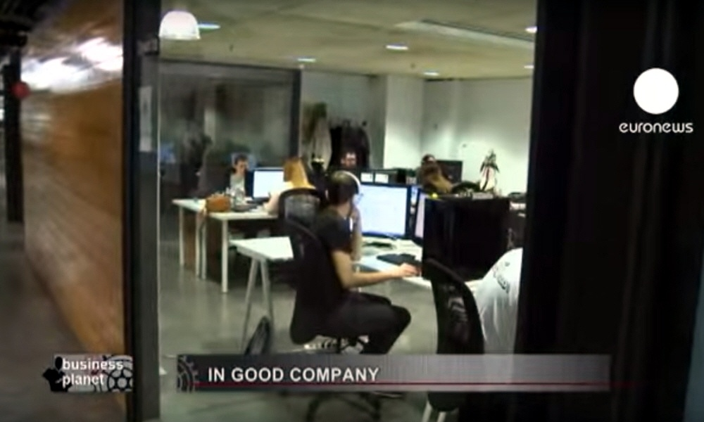 Бизнес-инкубатор Barcelona Activa в программе Планета Бизнеса на телеканале Euronews