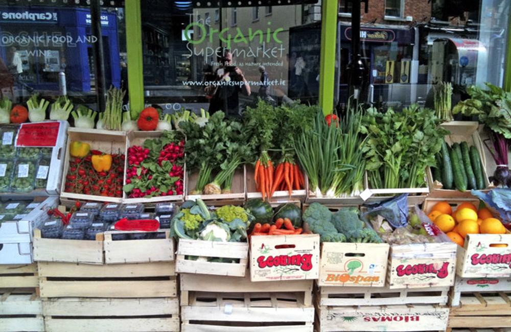 Бизнес по продаже органических продуктов
