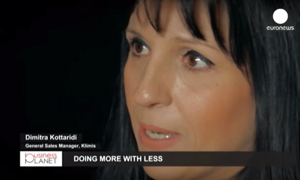 Димитра Коттариди Dimitra Kottaridi - совладелица и директор по продажам компании Klimis