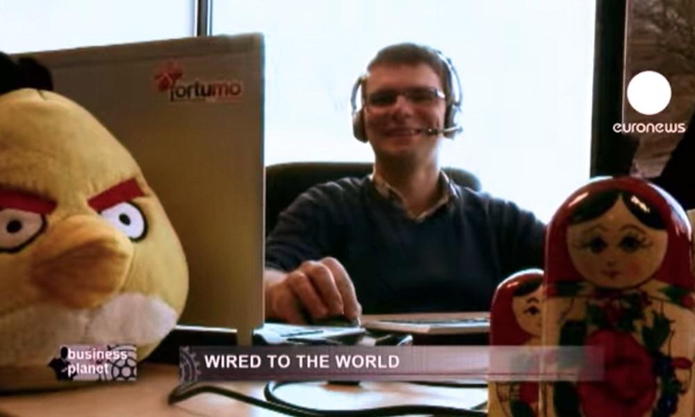 Компания Fortumo в программе Планета Бизнеса на телеканале Euronews