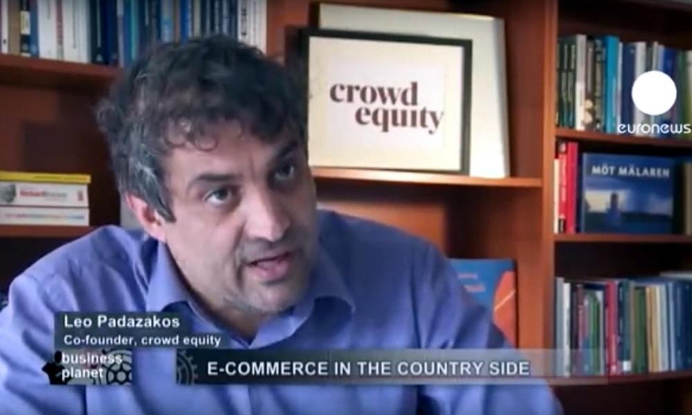 Лео Падазакос Leo Padazakos - сооснователь проекта Crowd Equity