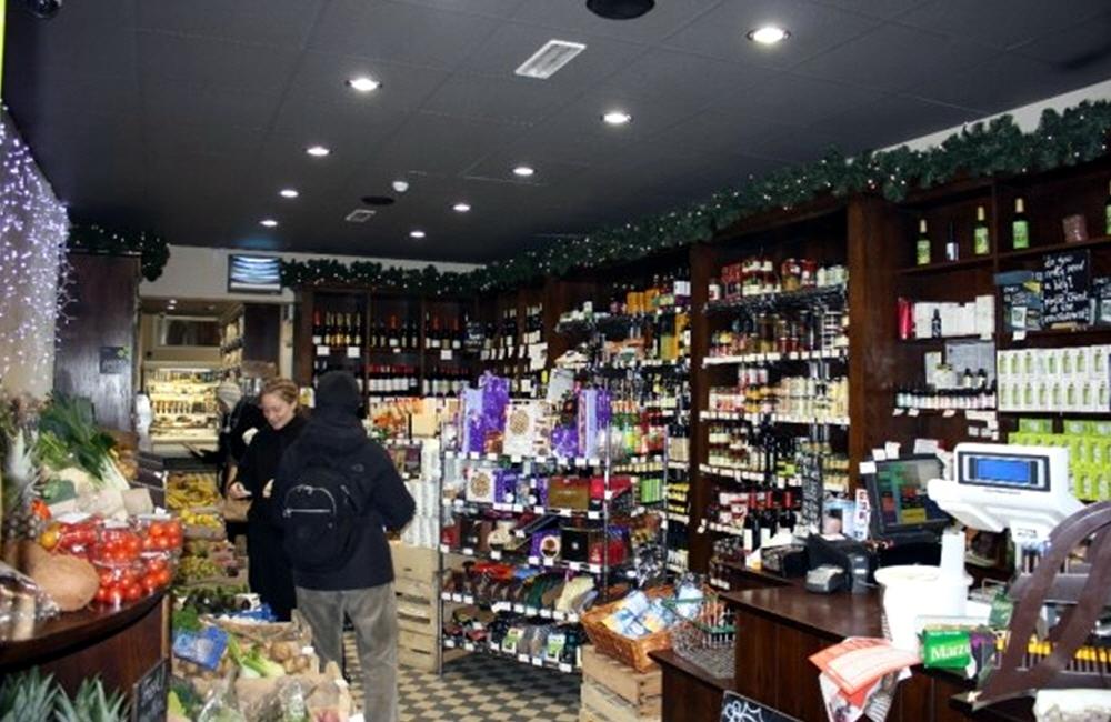 Магазин эко продуктов в Европе