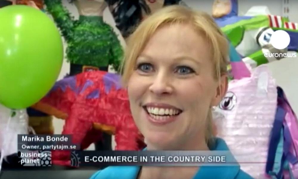 Марика Бонд Marika Bonde - владелица интернет-магазина по продаже сувениров PartyTajm