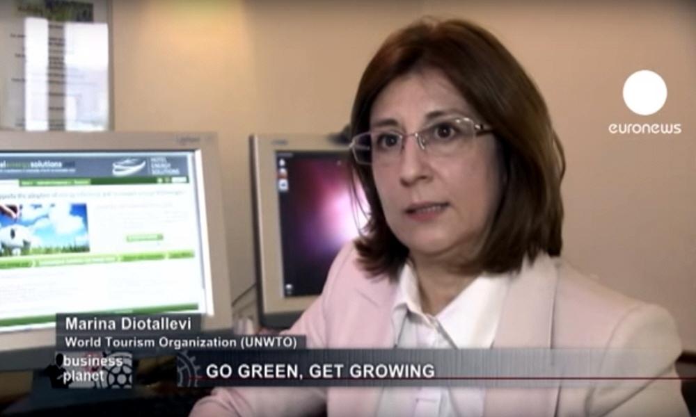 Марина Диоталлеви Marina Diotallevi - глава по этике Всемирной Туристической Организации