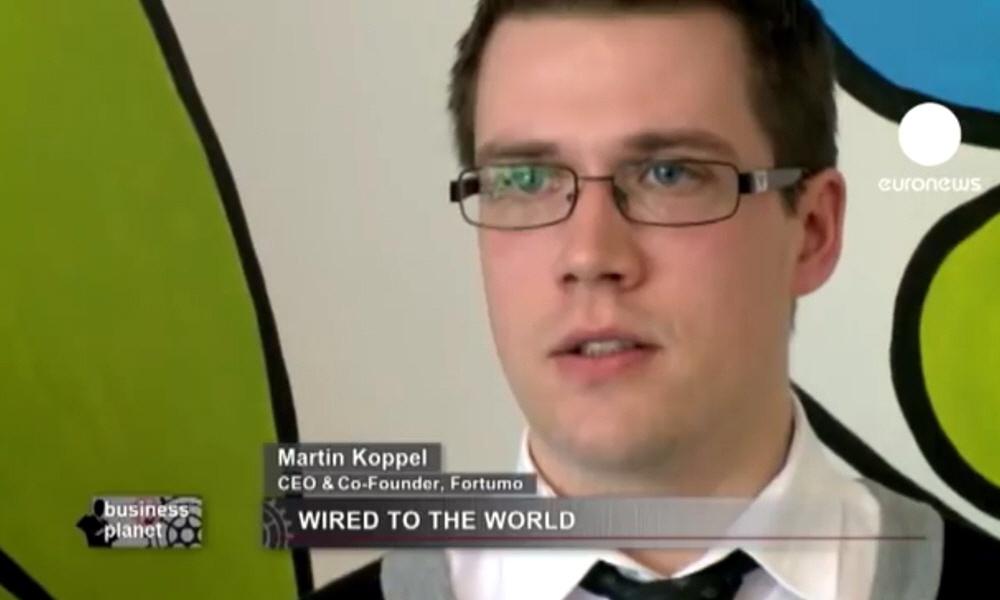 Мартин Коппель Martin Koppel - сооснователь и генеральный директор компании Fortumo