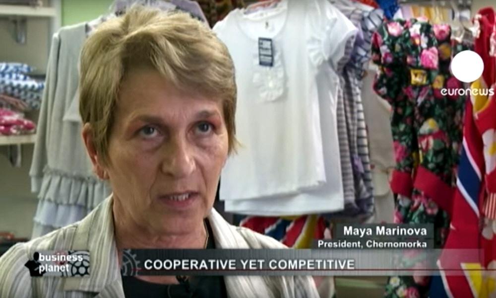 Мая Маринова Maya Marinova - президент швейной компании Черноморка