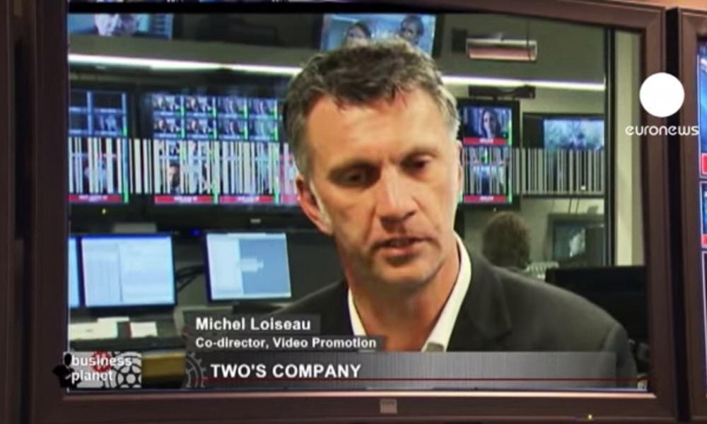 Мишель Луазо Michel Loiseau - руководитель бельгийской компании Video Promotion