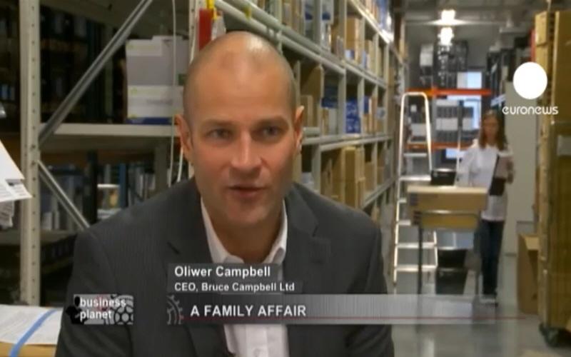 Оливер Кемпбелл - владелец финской компании Bruce Cambell Ltd