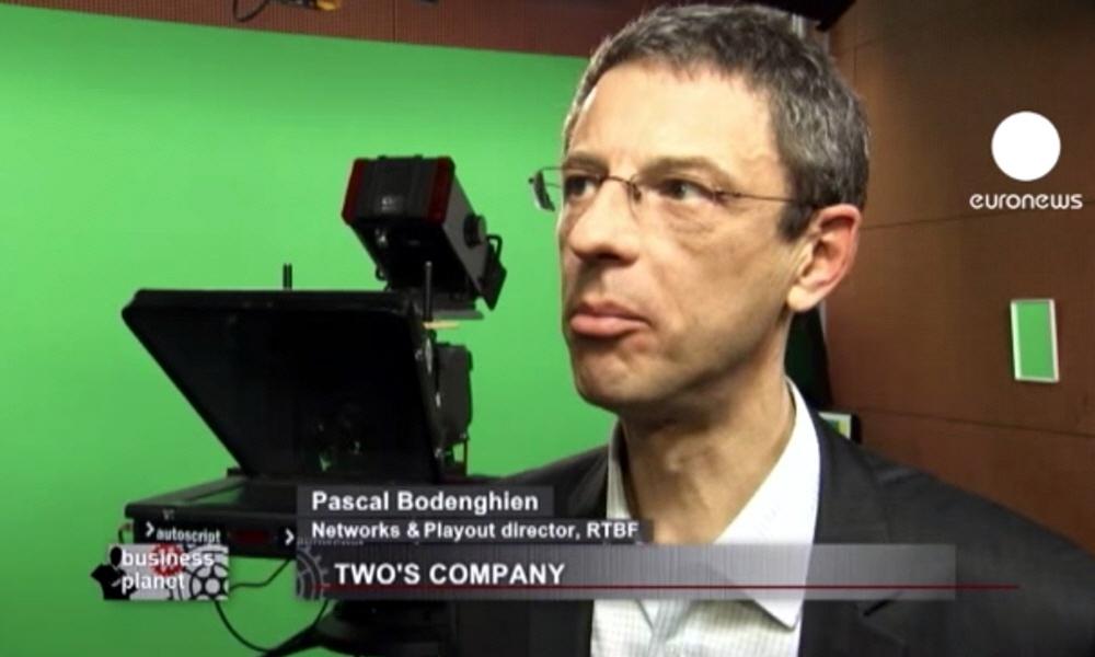 Паскаль Боденгиен Pascal Bodenghien - директор телерадиокомпании RTBF