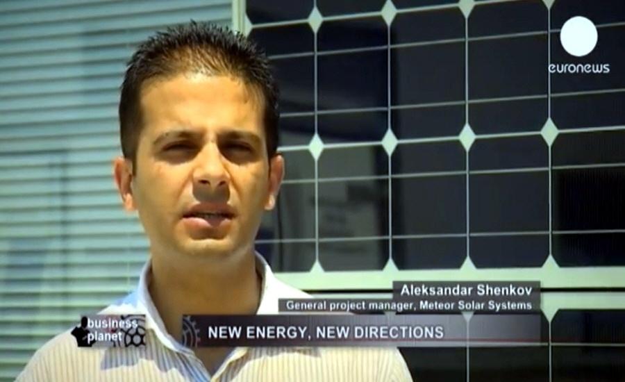 Александр Шенков - генеральный директор компании Meteor Solar Systems