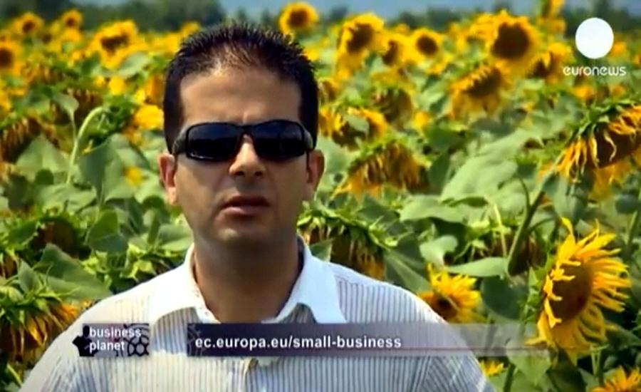 Александр Шенков в программе Планета Бизнеса на телеканале Euronews