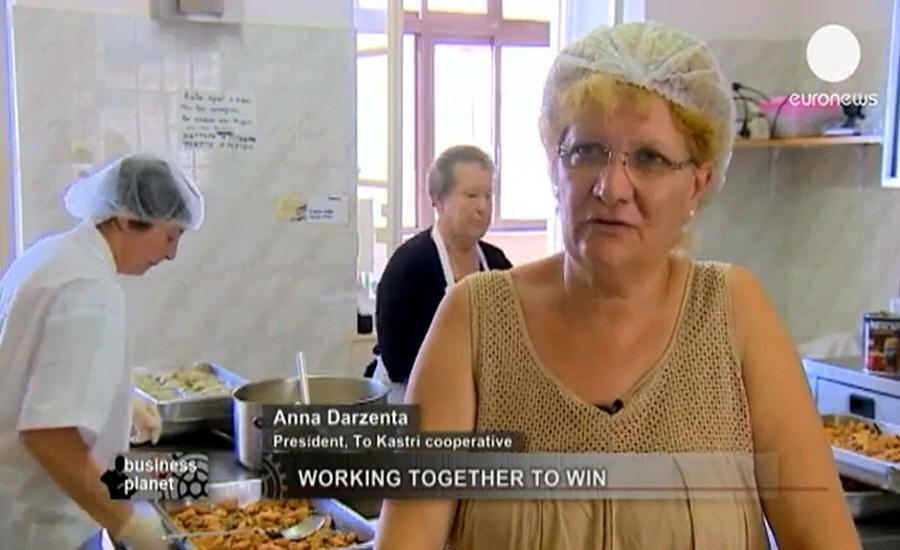 Анна Дарзента - руководитель кооператива TO KASTRI в программе Планета Бизнеса