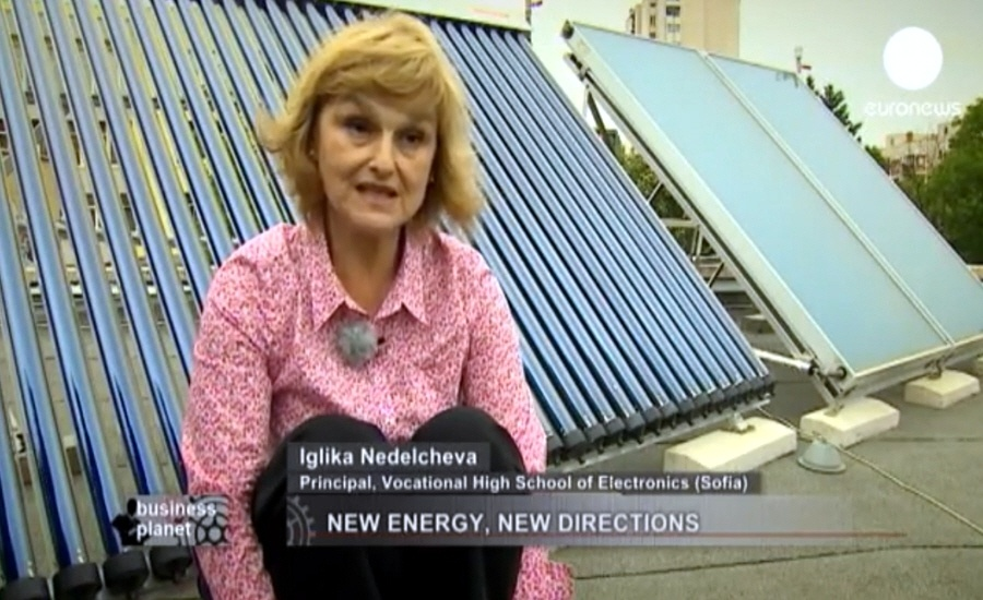 Игилка Неделчева - координатор программы Умная энергия для Европы в Болгарии, директор школы Sofia Vocational High School of Electronics