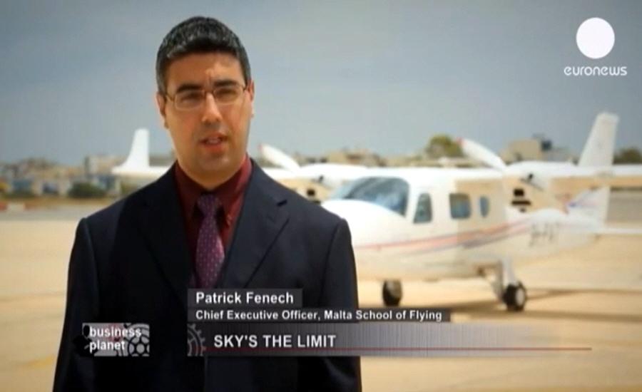 Патрик Фенеч Patrick Fenech - генеральный директор лётной школы Malta School of Flying