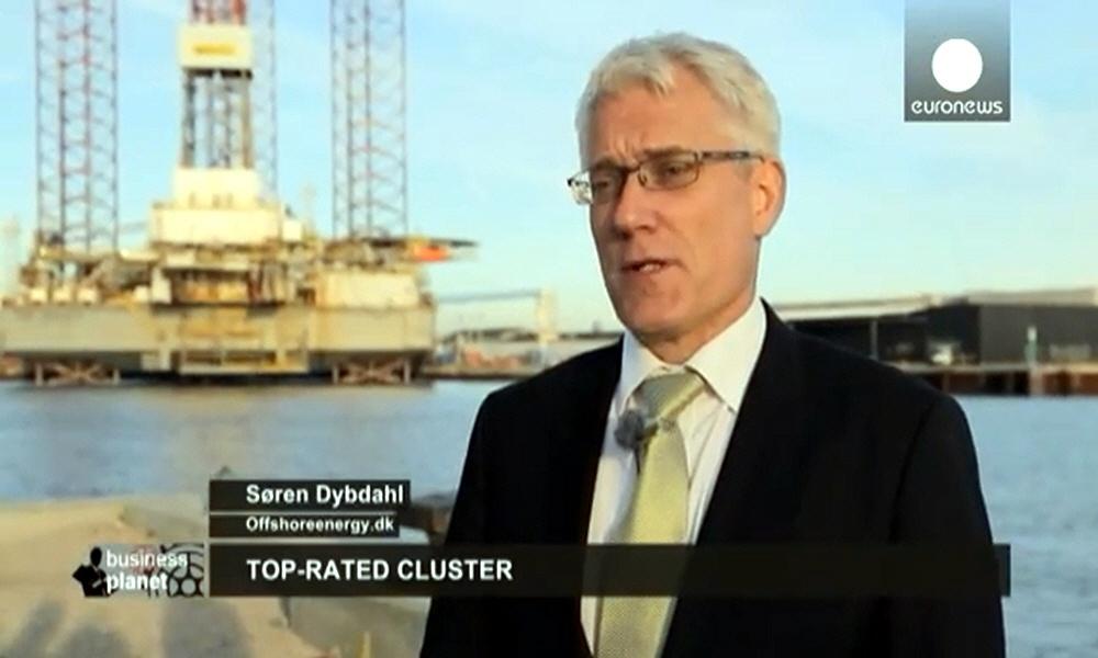 Сёрен Дибдель Søren Dybdahl - представитель европейской организации Offshoreenergy