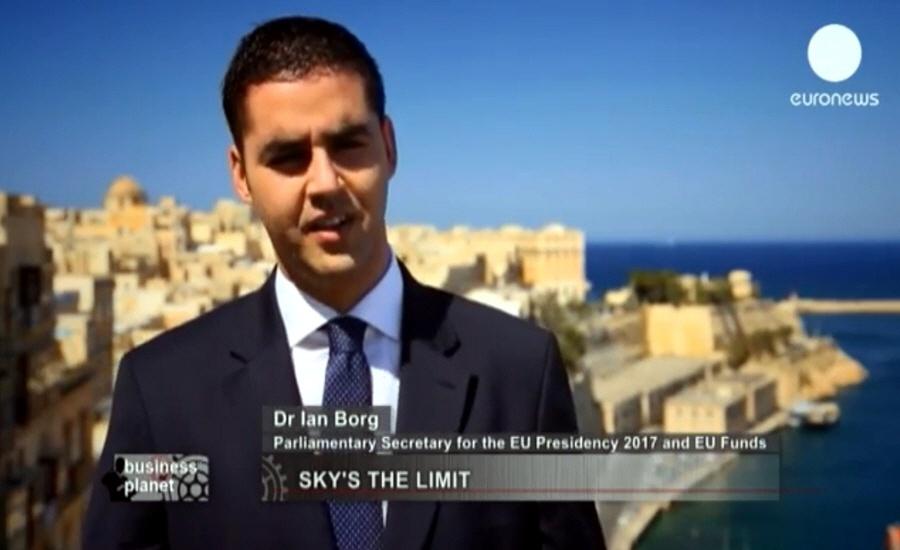 Йан Борг Ian Borg - парламентский секретарь Европейского Союза