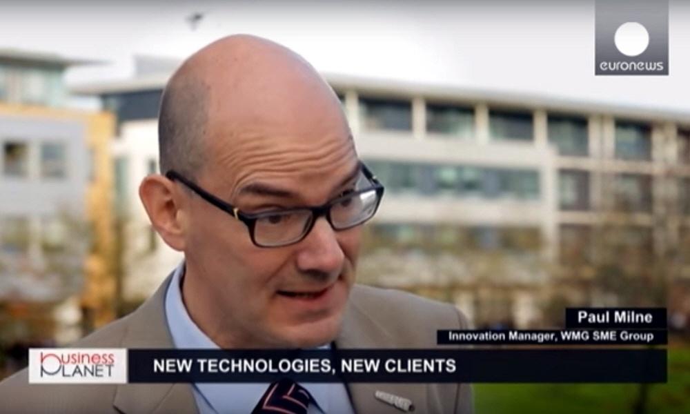Пол Милн - менеджер по инновациям Международного Производственного Центра при Университете Warwick