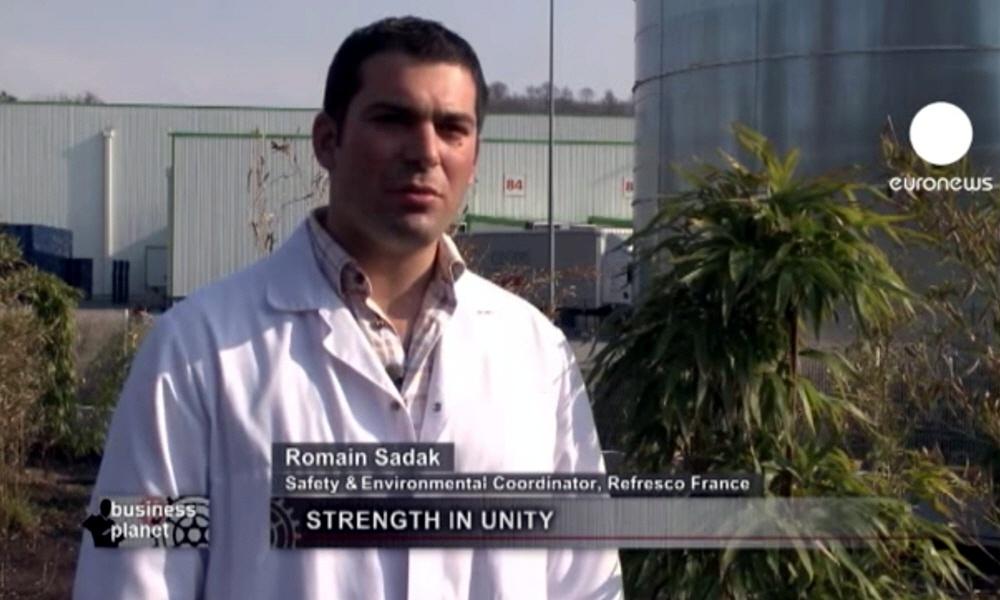 Ромайн Садак Romain Sadak - координатор французской группы экологической безопасности Refresco