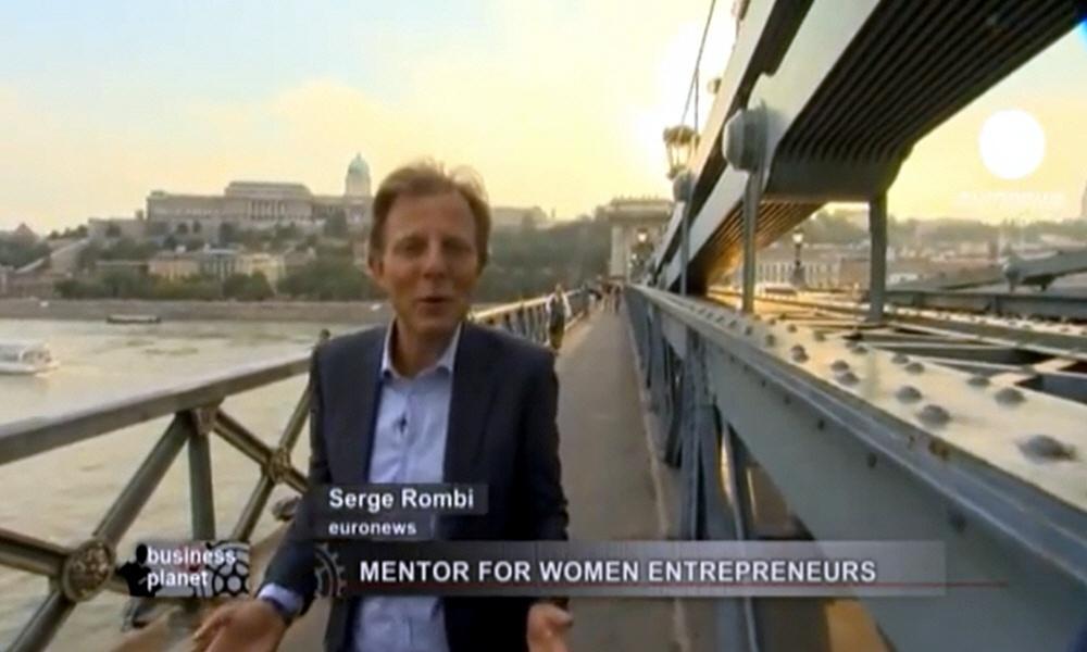Серж Ромби - ведущий программы Планета Бизнеса на телеканале Euronews
