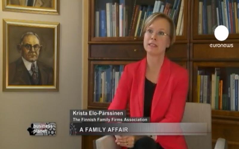 Криста Эло-Пэрссинен Krista Elo-Parssinen - представитель ассоциации The Finnish Family Firms Assotiantion