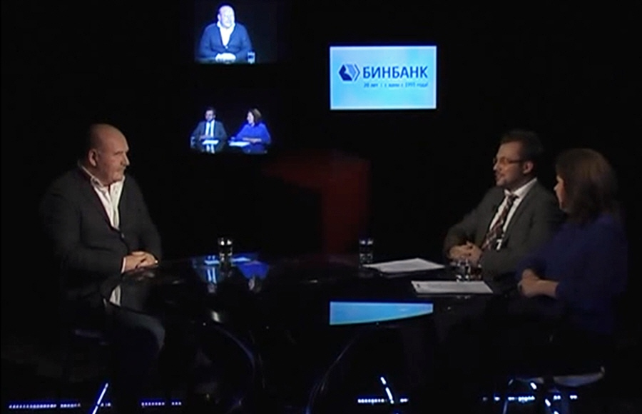 Николай Агурбаш в передаче Правила успеха на телеканале Про Бизнес