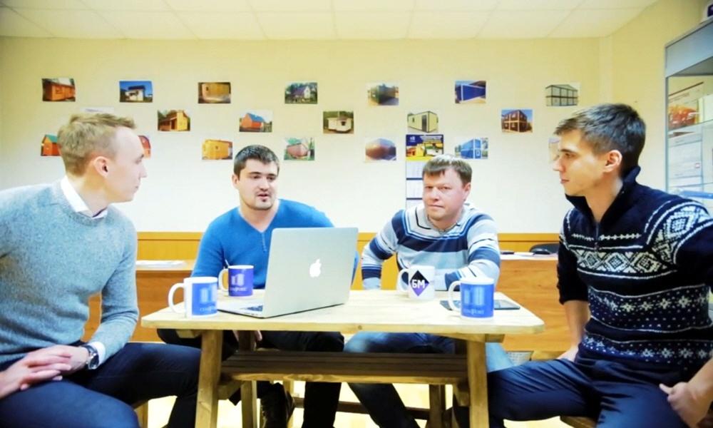 Дмитрий Давыдов и Алексей Баныкин в программе Предприниматели