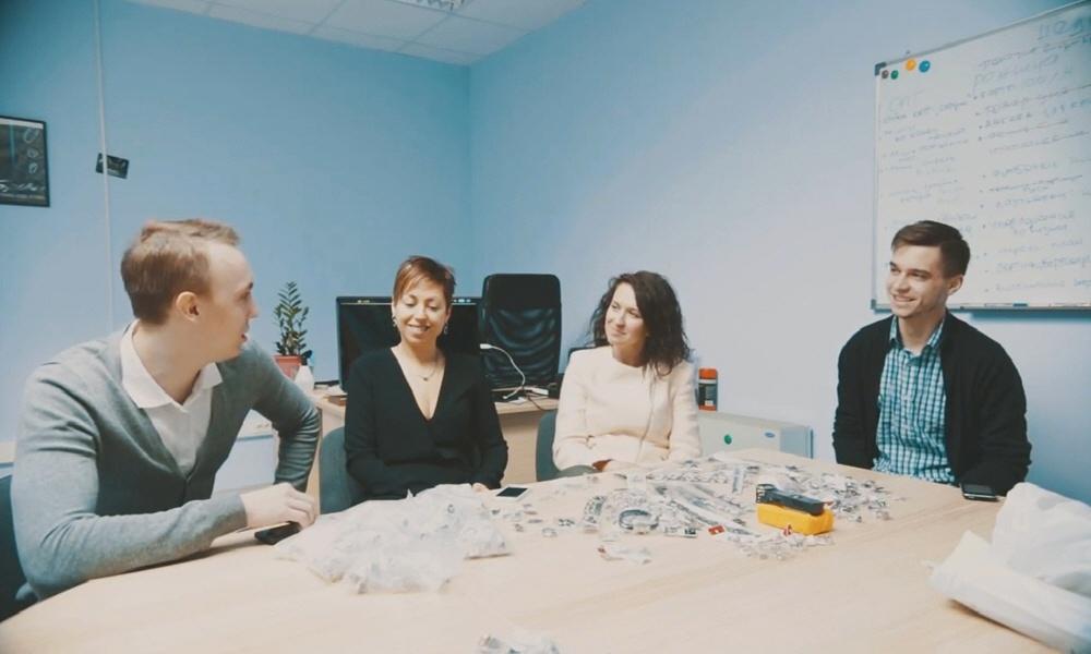Екатерина Овчаренко и Вероника Балафендиева в программе Предприниматели