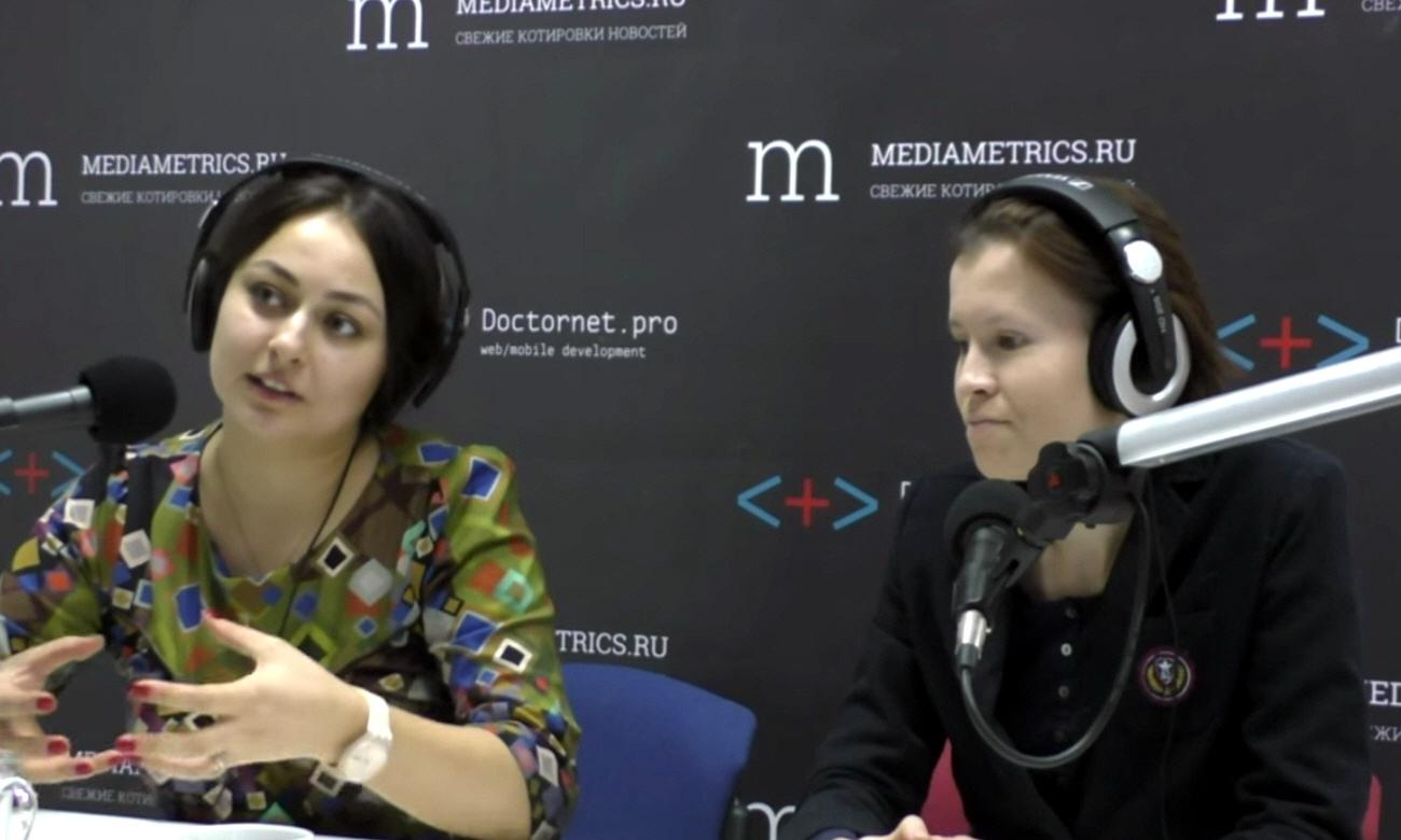 Антонина Лобова и Мария Корнеева в передаче ПроМой бизнес