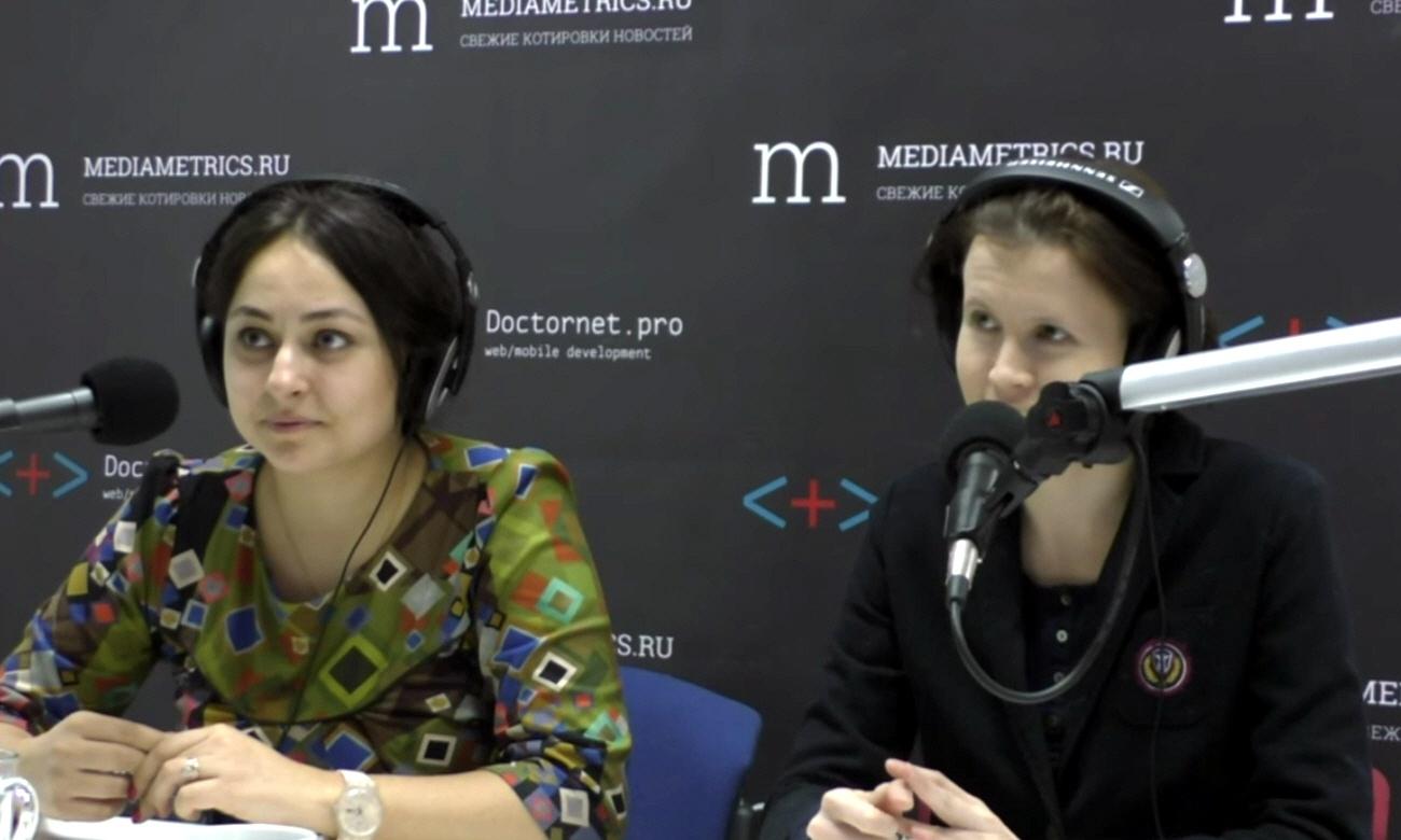 Антонина Лобова и Мария Корнеева - основательницы творческого объединения Зеркало