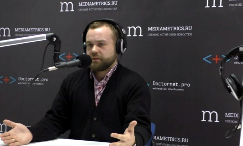 Евгений Кузьмин в передаче ПроМой бизнес на радио Медиаметрикс
