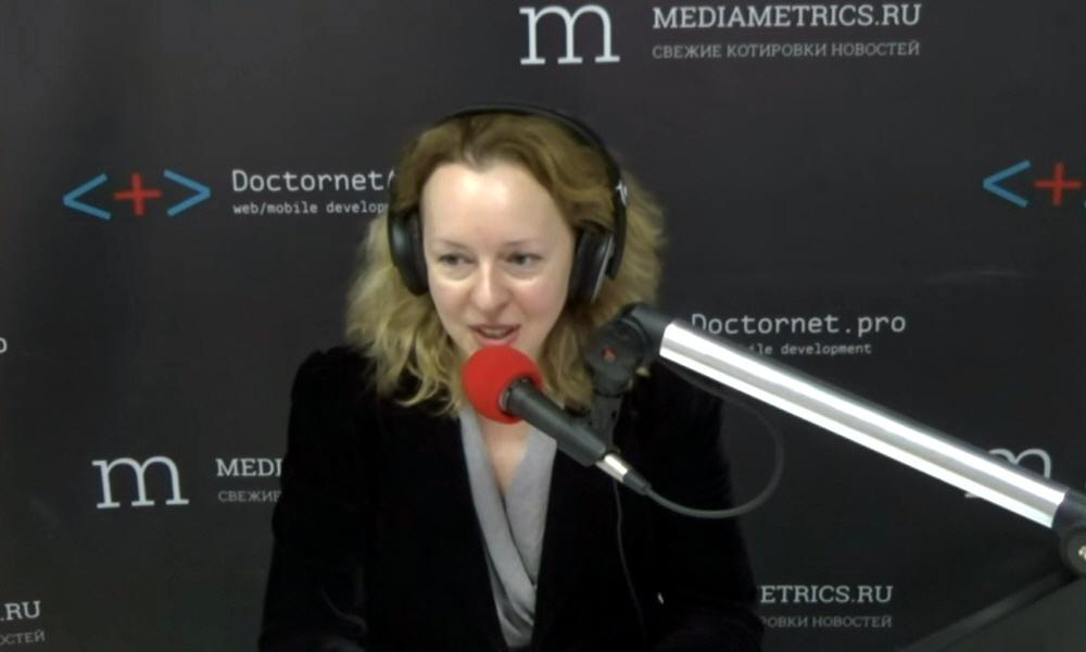 Тамара Найдёнова - ведущая передачи ПроМой бизнес на радио Медиаметрикс