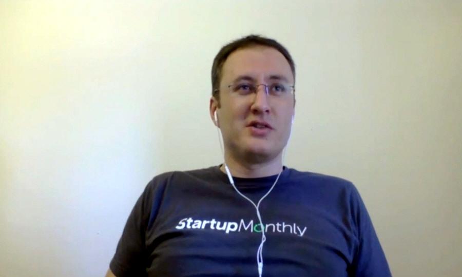 Юрий Рабинович в программе Rockin Startup