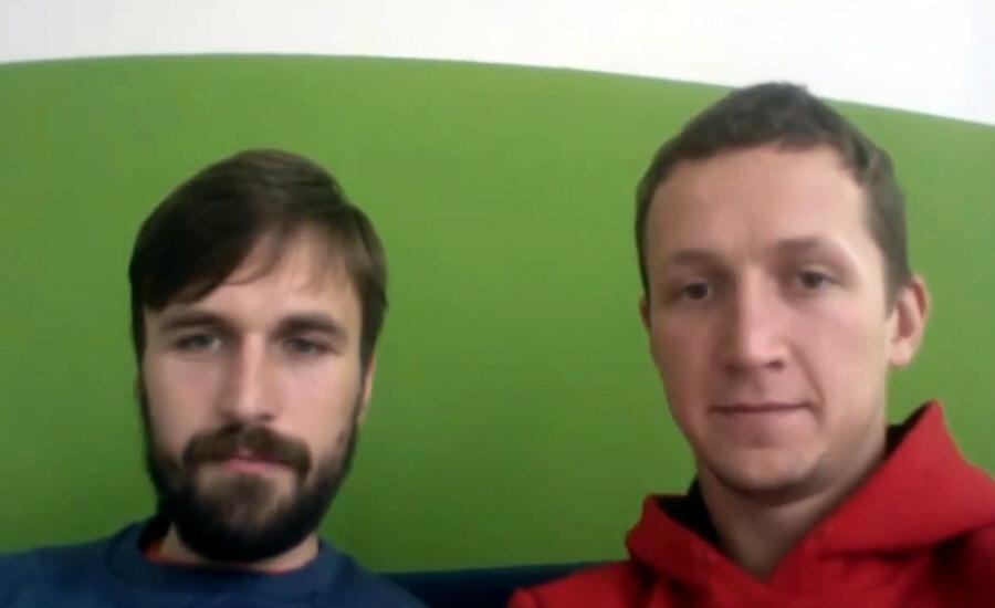 Иван Абламский и Пётр Бондаревский в программе Rockin Startup