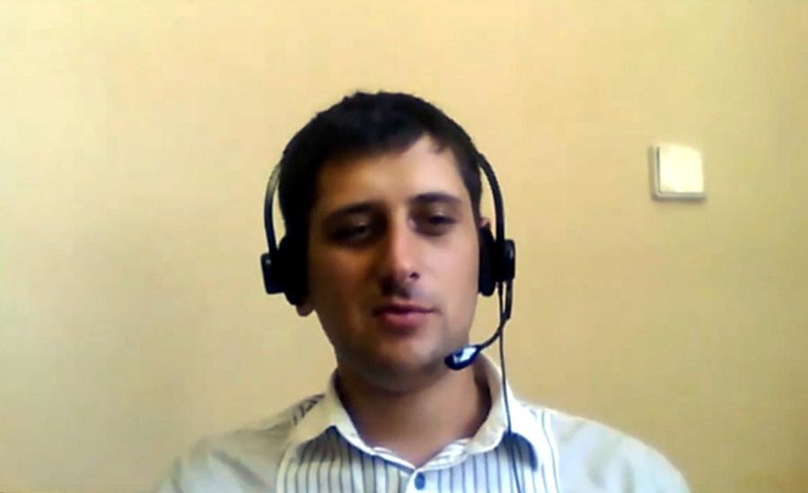 Никита Полатайко основатель и генеральный директор компании SmartDoc Rockin Startup