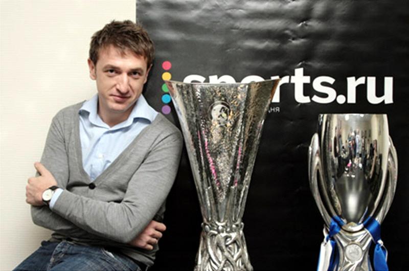 Дмитрий Навоша - генеральный директор интернет портала Sports.ru
