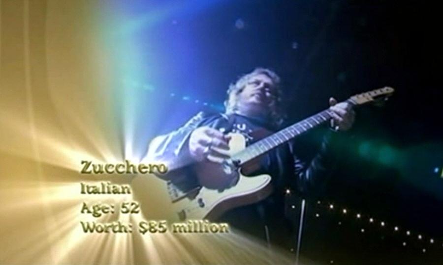 Адельмо Форначари - популярный итальянский певец Zucchero