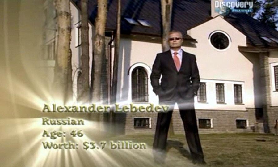 Александр Лебедев - председатель Совета директоров финансово-промышленного холдинга Национальная резервная корпорация