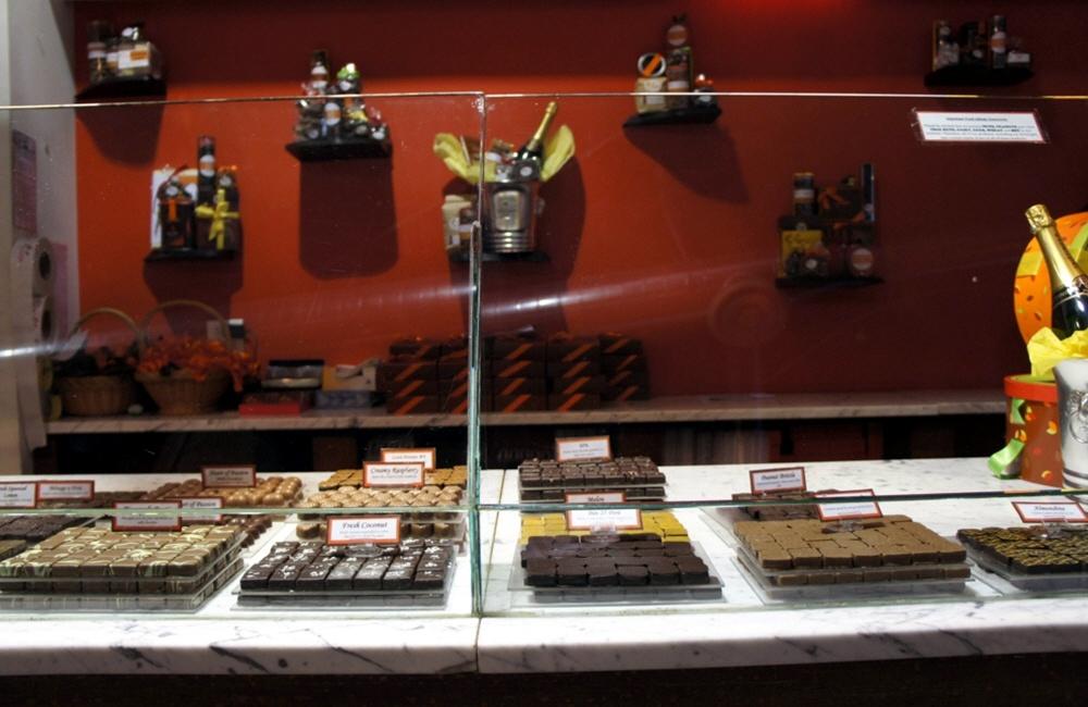Шоколадный бизнес  Америке