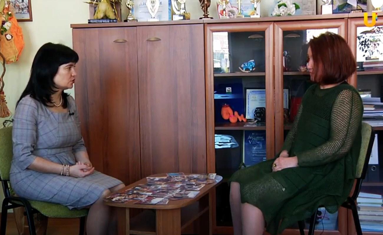 Земфира Шемчук в программе Счастье в деятельности