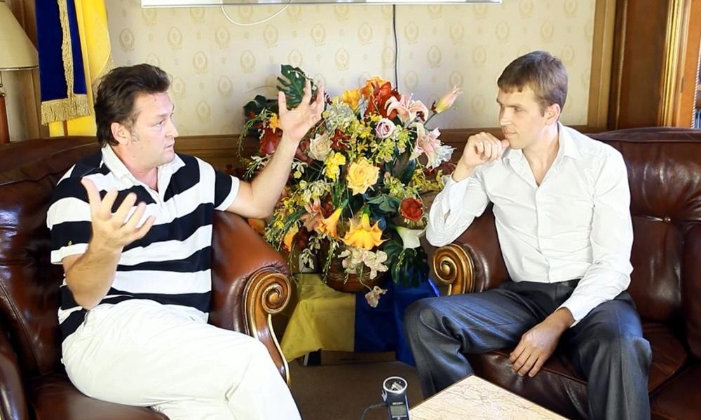 Геннадий Балашов - теле и радио ведущий