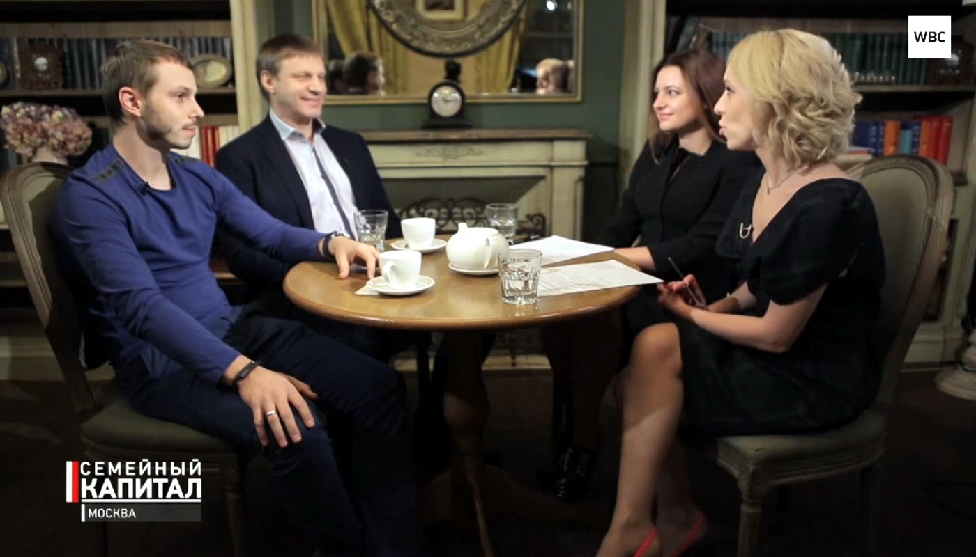Владимир и Виктор Горбуновы в программе Семейный капитал
