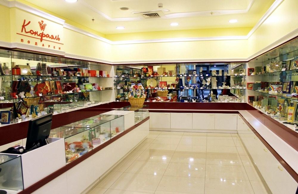 Открытие шоколадного магазина